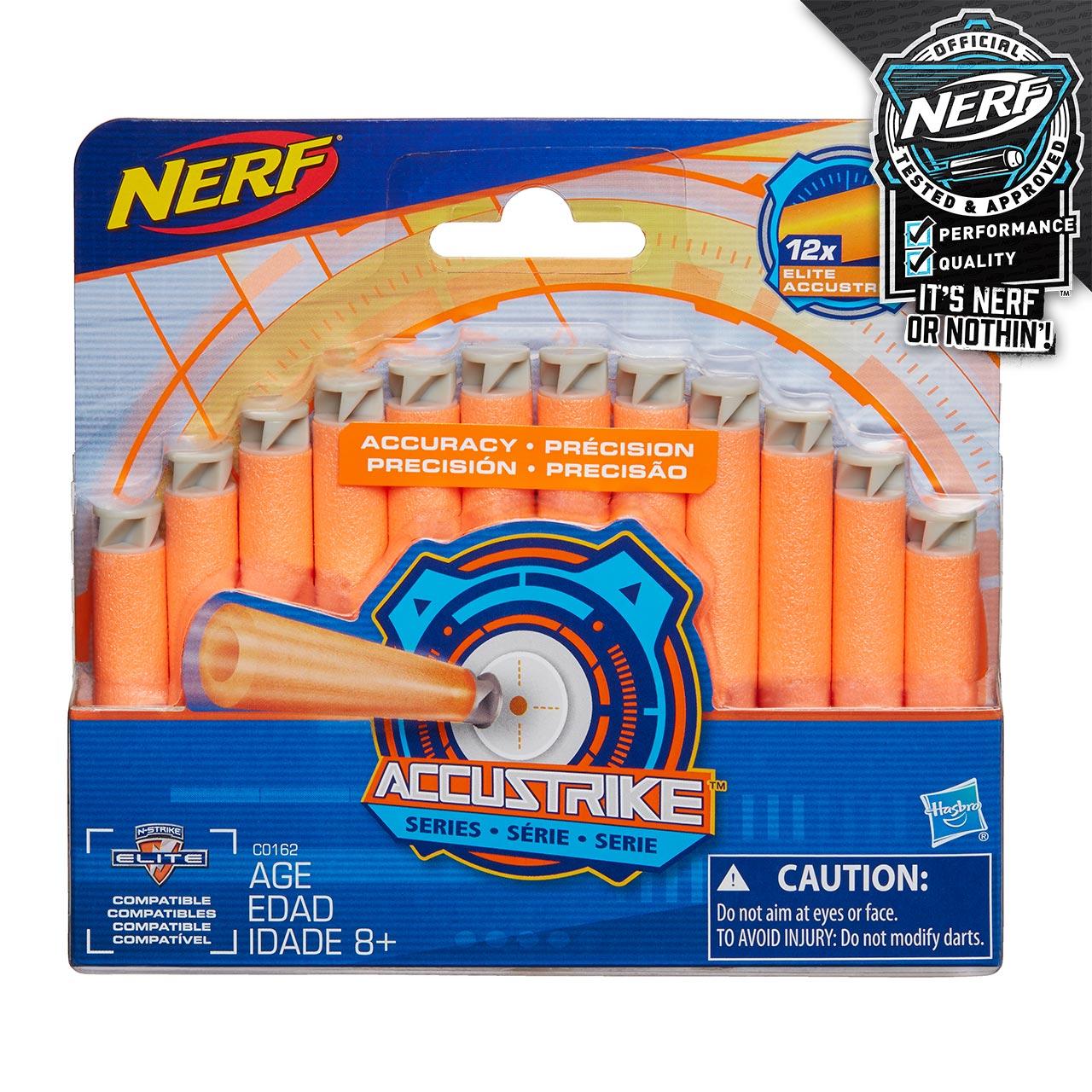 Nerf Accustrike šipky 12 ks