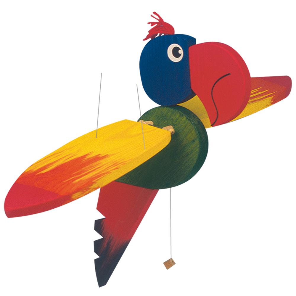Létací papoušek-velký, 50cm (DP)