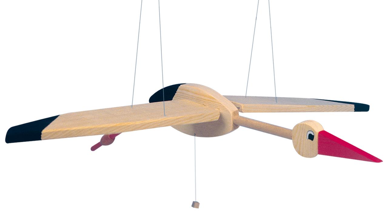 Létací čáp-velký, 90cm (DP)