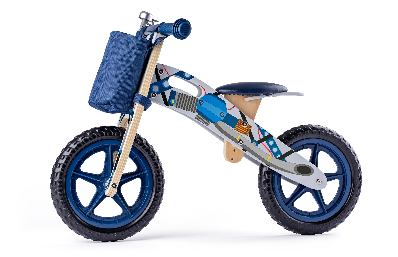 Odrážedlo motorka, modrá
