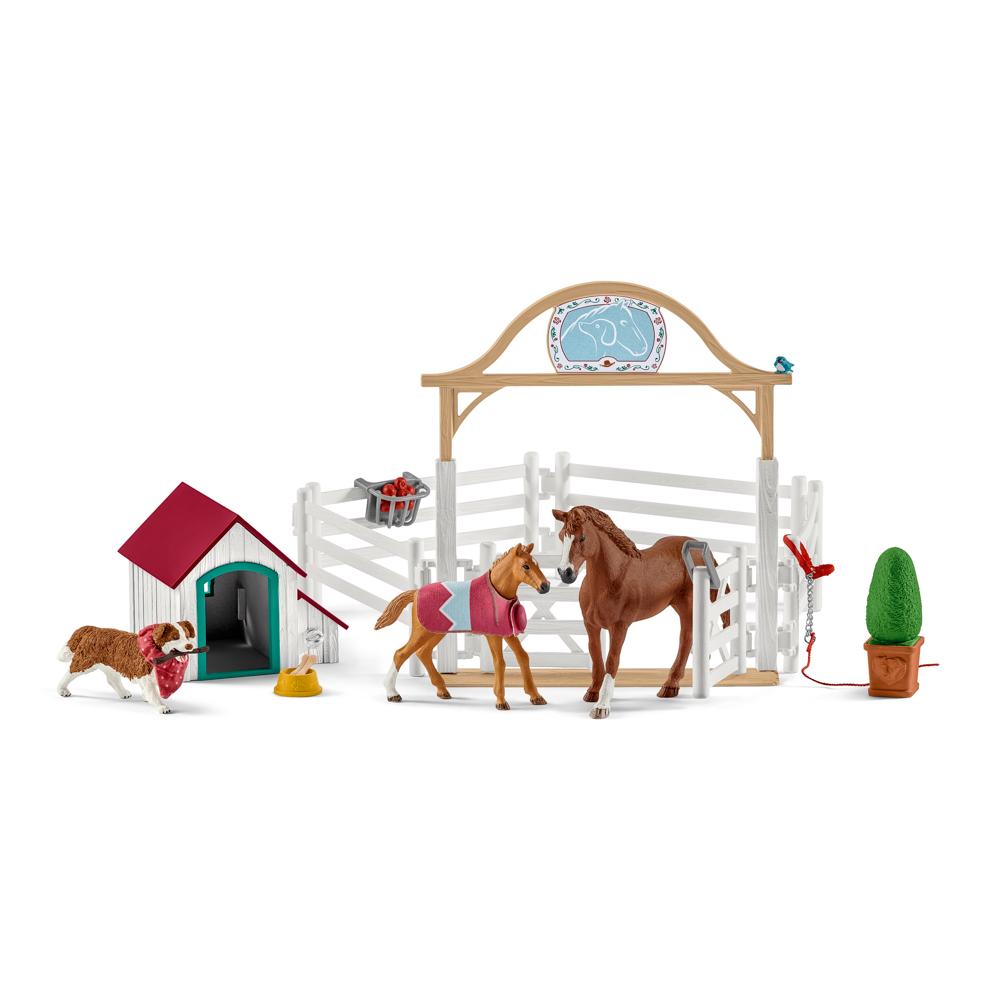 Hostující koně, Hannah s fenkou Ruby