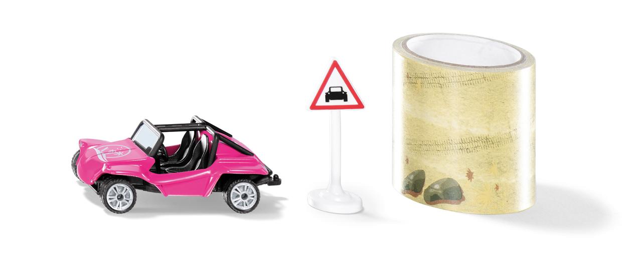 SIKU Blister - Buggy s pásem cesty