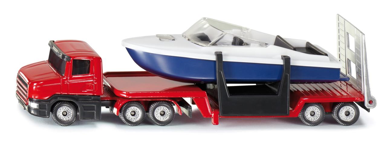 SIKU Blister - Podvalník s člunem