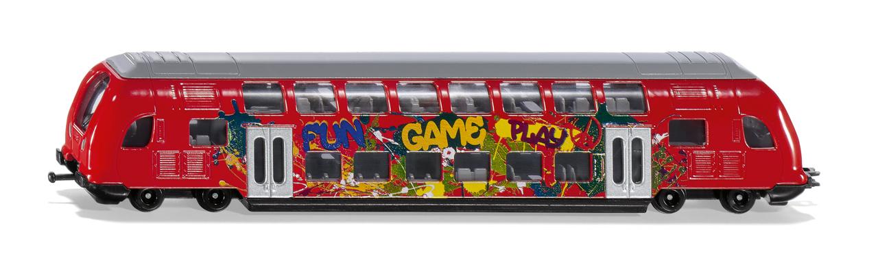 SIKU Super - dvouposchodový vlak