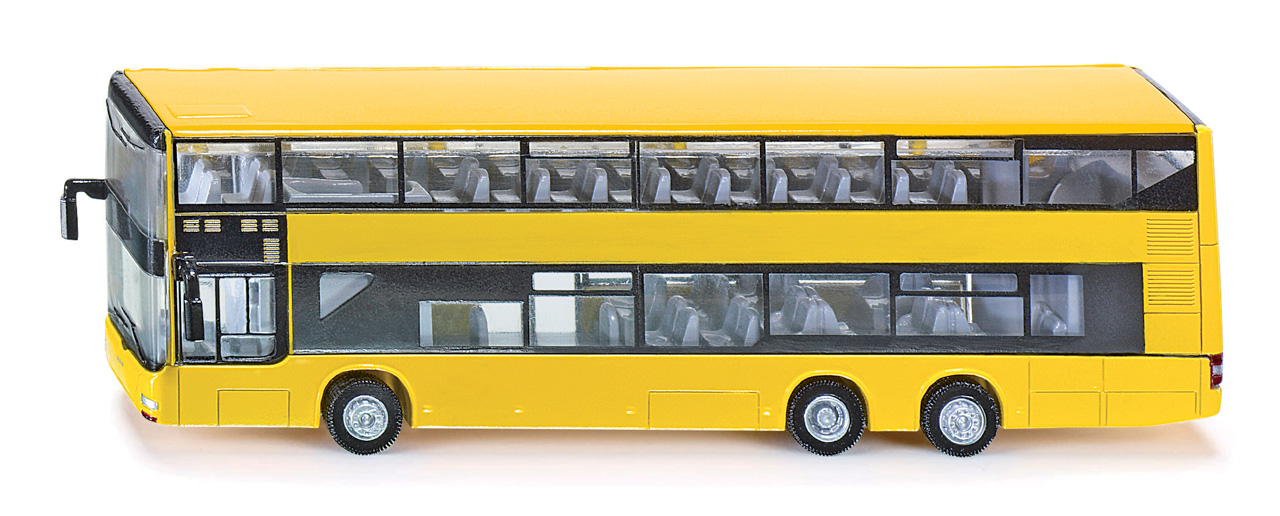 SIKU Super - Dvoupatrový linkový autobus MAN,1:87