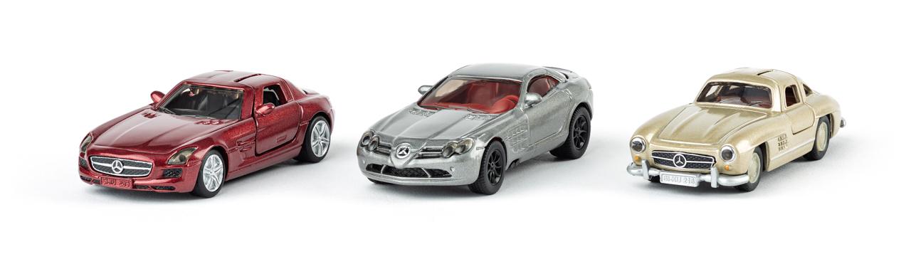 SIKU Super - Mercedes set klasik, 3ks