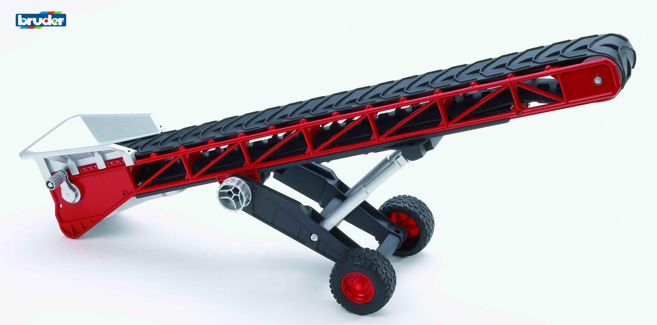 Konstrukční vozy - dopravní pás