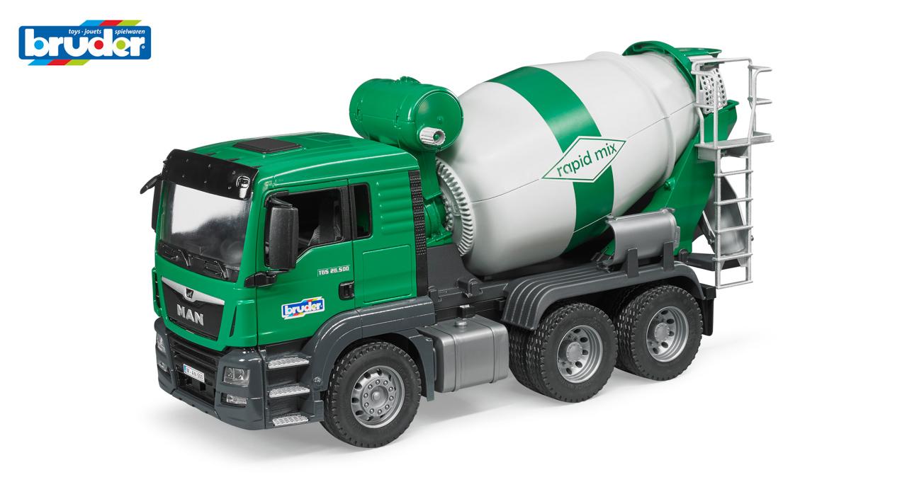 Konstrukční vozy - míchačka MAN TGS