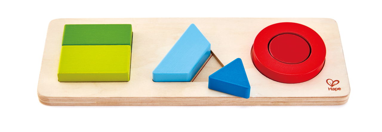 Puzzle-geometrické tvary
