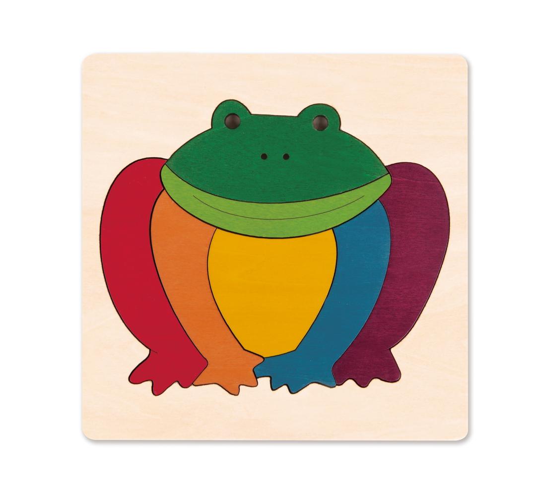 Puzzle-Duhová žabka