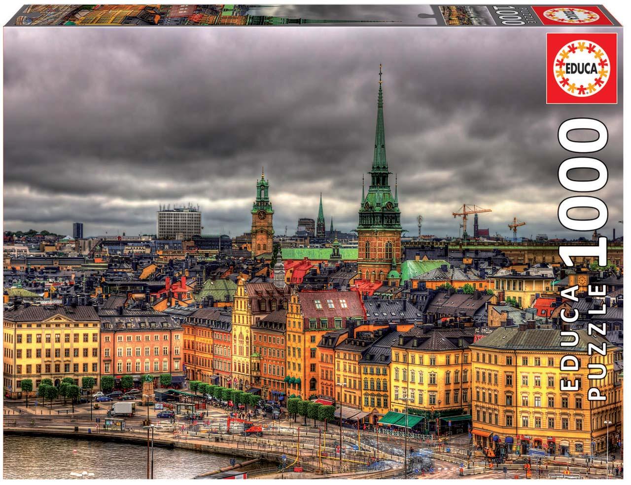 Puzzle 1000 dílků - Stockholm