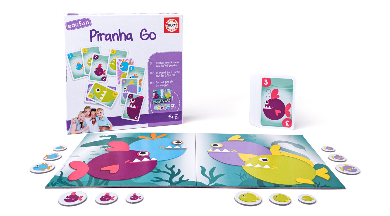 Hra - Piraně