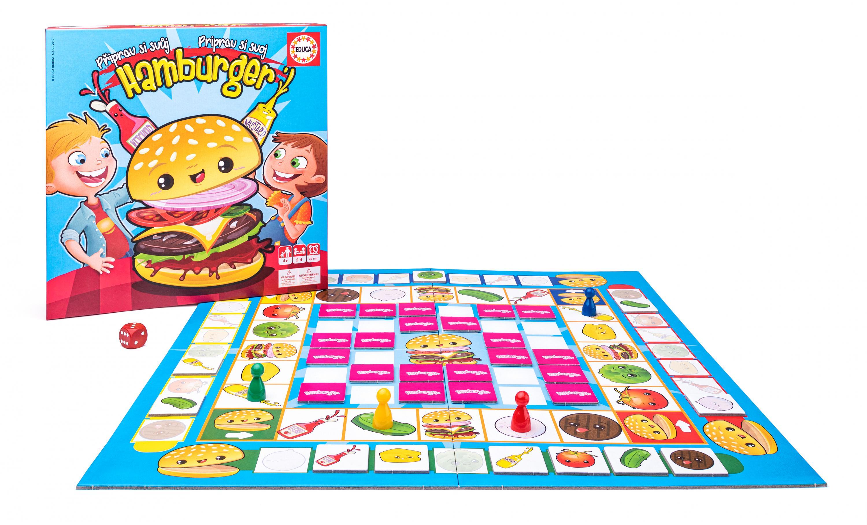 Hra - Připrav si svůj Hamburger