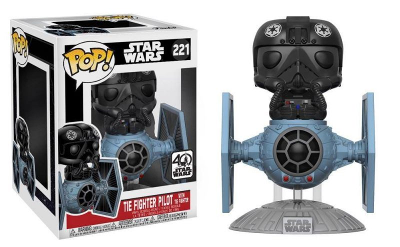 Funko POP Deluxe: Star Wars: Tie Fighter w/ Tie Pilot