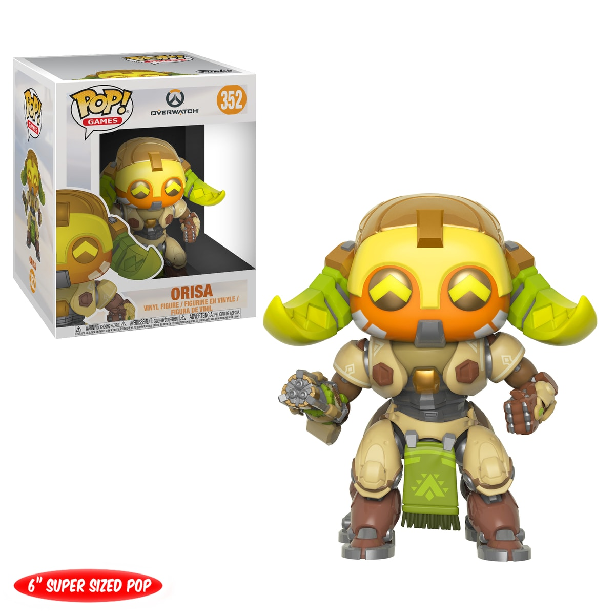 "Funko POP Games: Overwatch 6"" - Orisa"