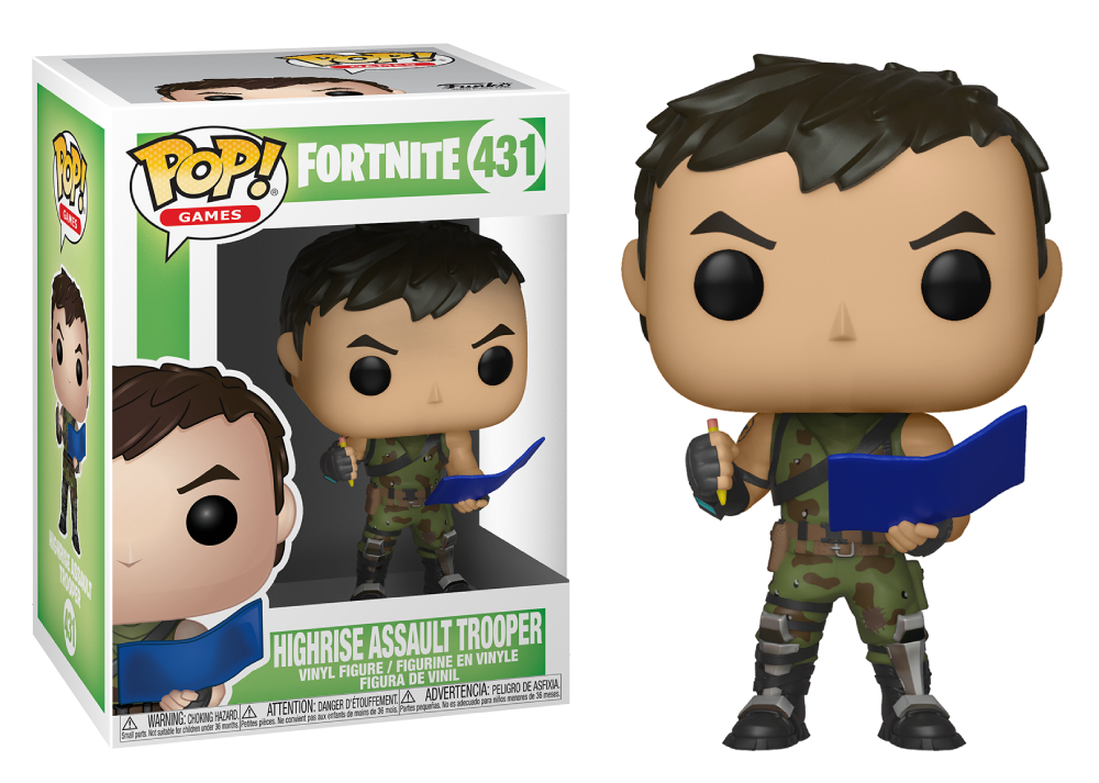 Funko POP Games: Fortnite - Highrise Assault Trooper
