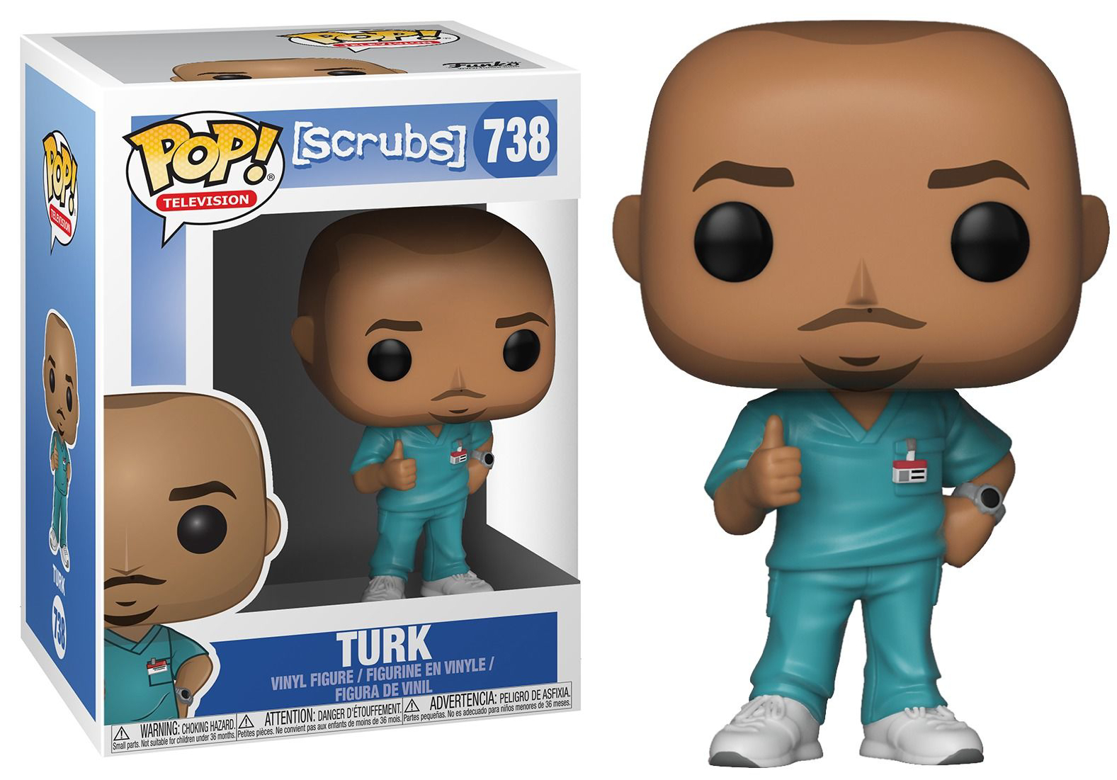 Funko POP TV: Scrubs- Turk
