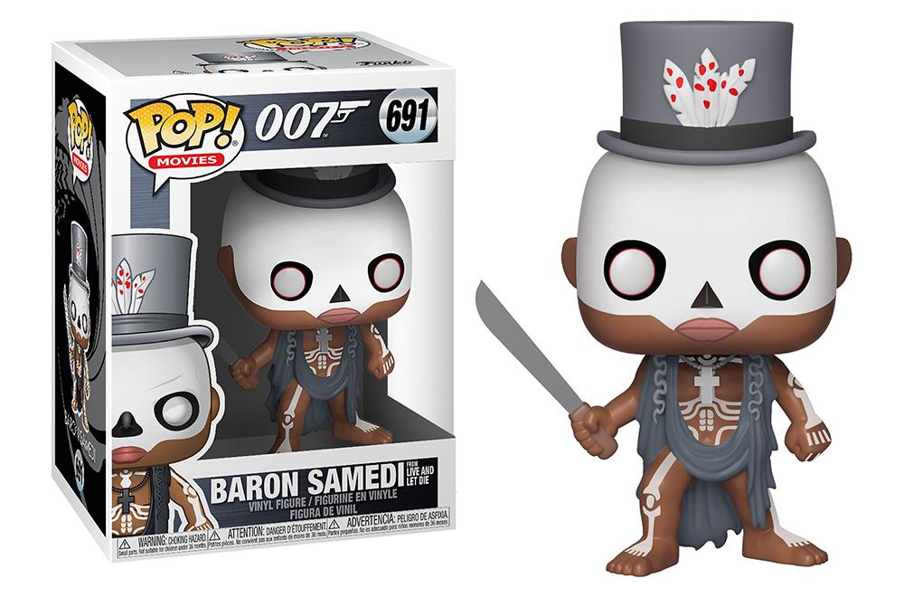 Funko POP Movies: James Bond S2 - Baron Samedi