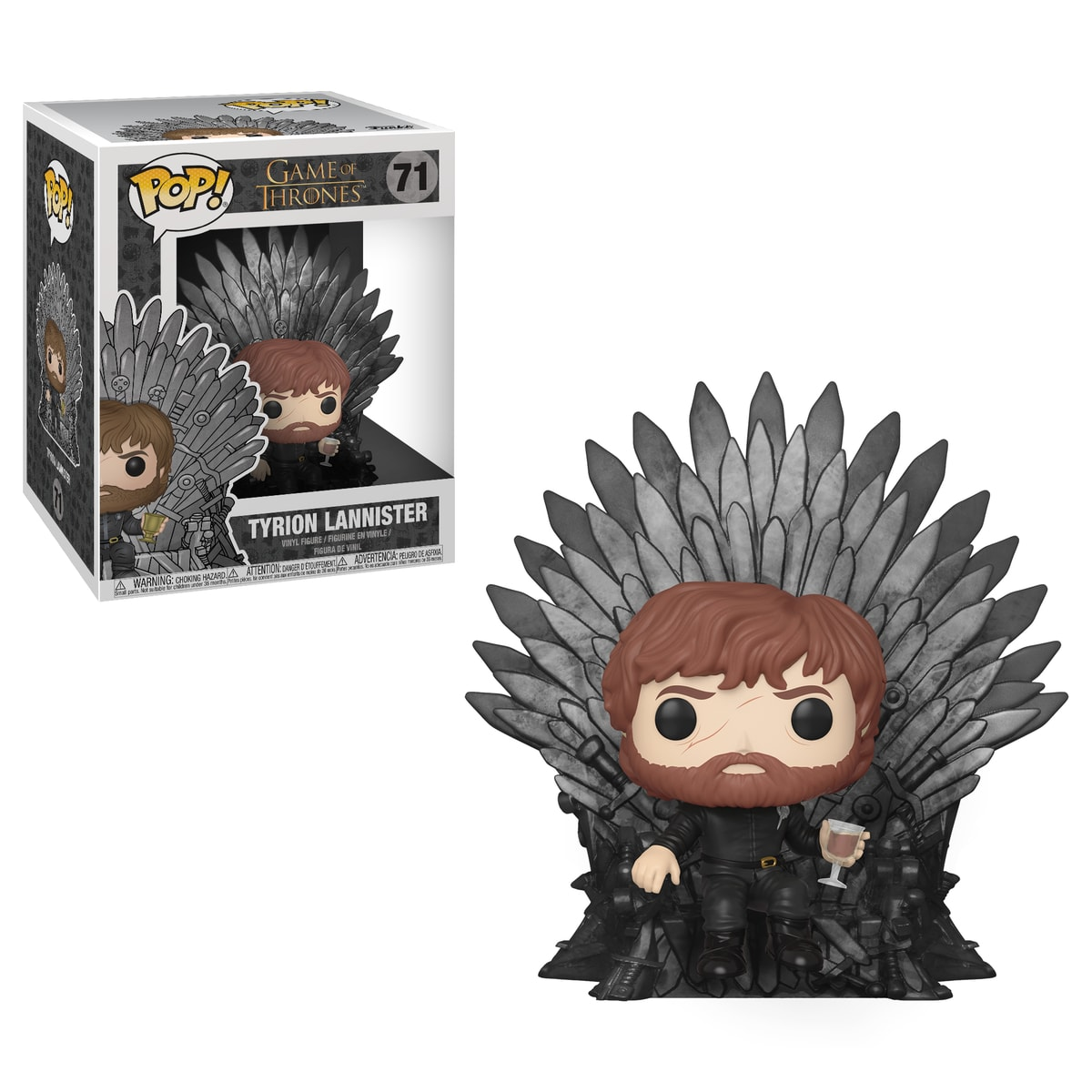 Funko POP Deluxe: Game of Thrones S10 - Tyrion Sitting on Iron Throne