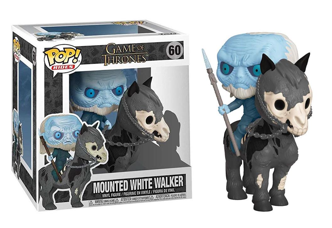 Funko POP TV Rides: Game of Thrones S10 - White Walker on Horse