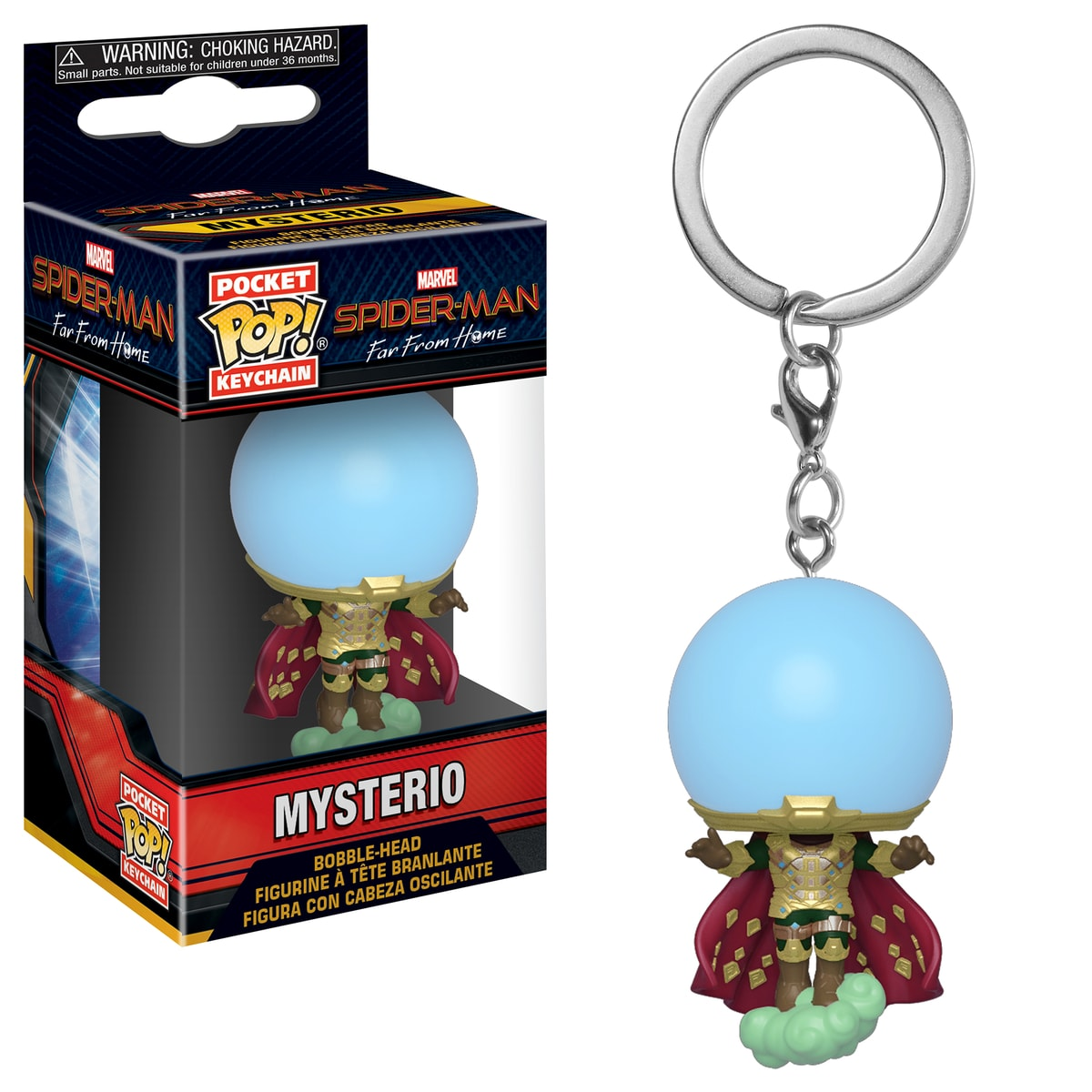 Funko Pop Keychain: Spider-Man Far From Home - Mysterio