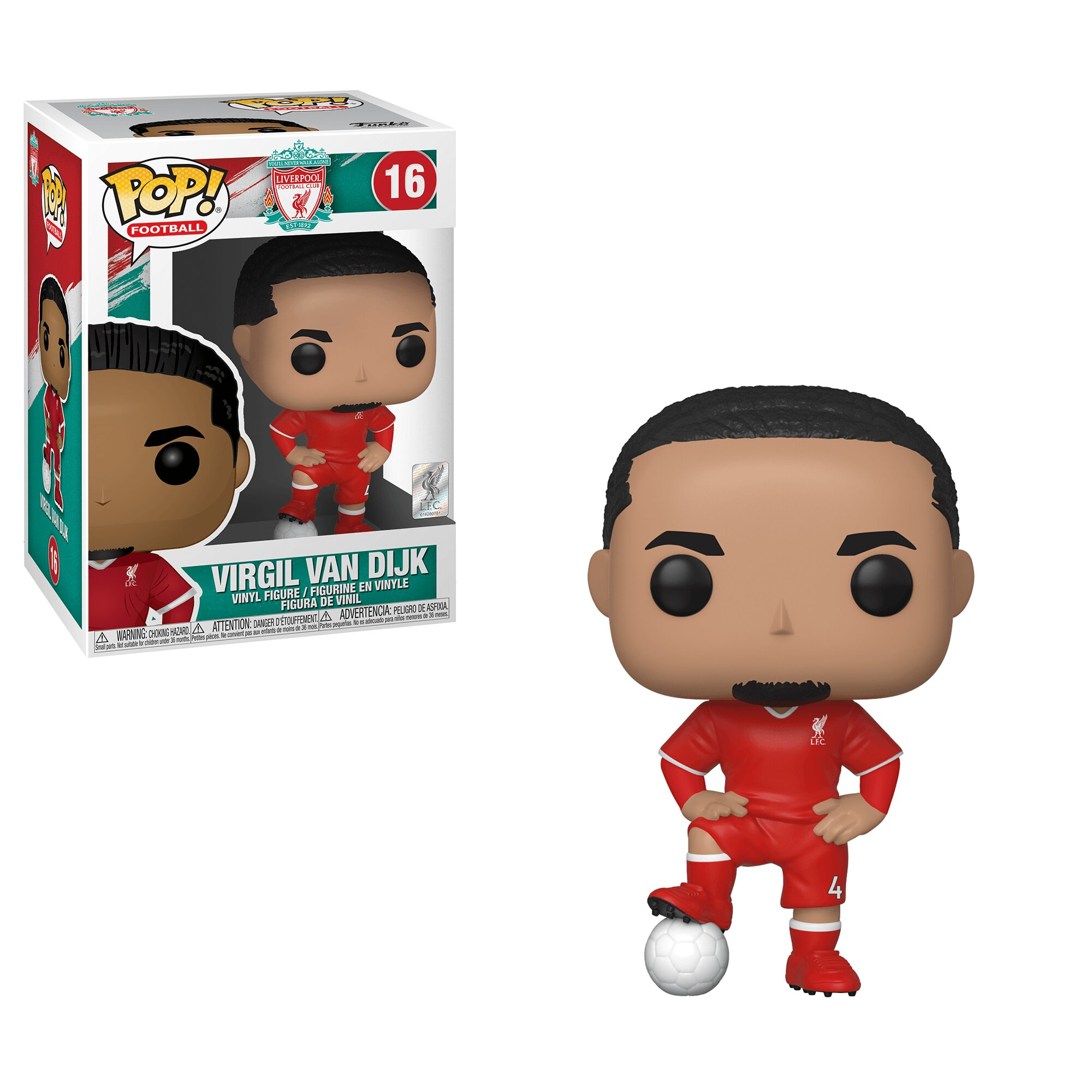 Funko POP Football: Virgil Van Dijk (Liverpool)