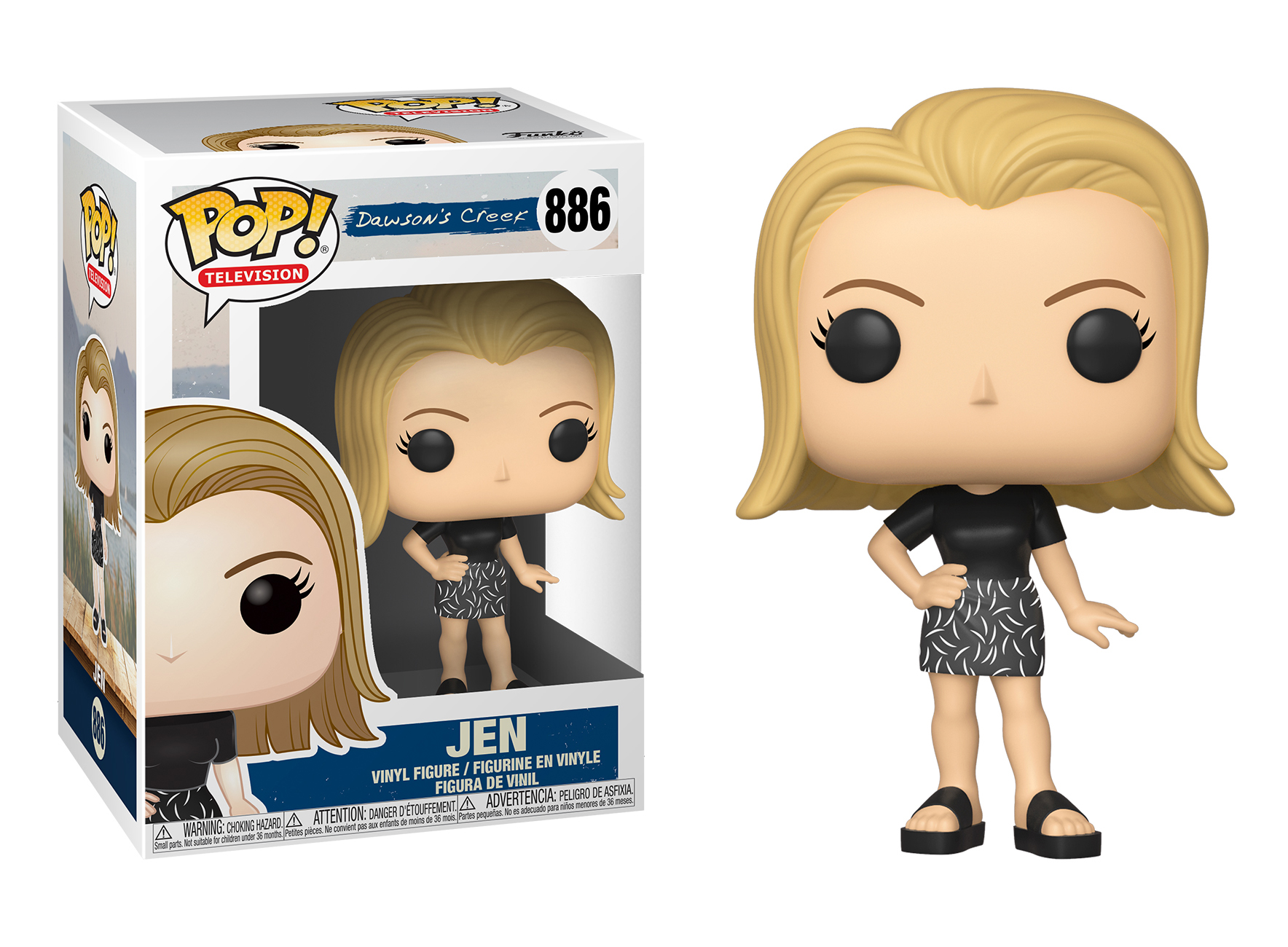 Funko POP TV: Dawsons Creek S1 - Jen