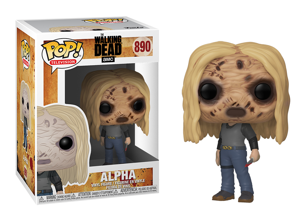 Funko POP TV: The Walking Dead  S10 - Alpha w/Mask