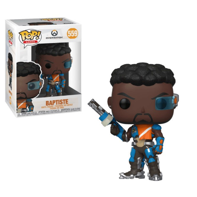 Funko POP Games: Overwatch S6 - Baptiste
