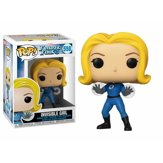 Funko POP Marvel: Fantastic Four - Invisible Girl