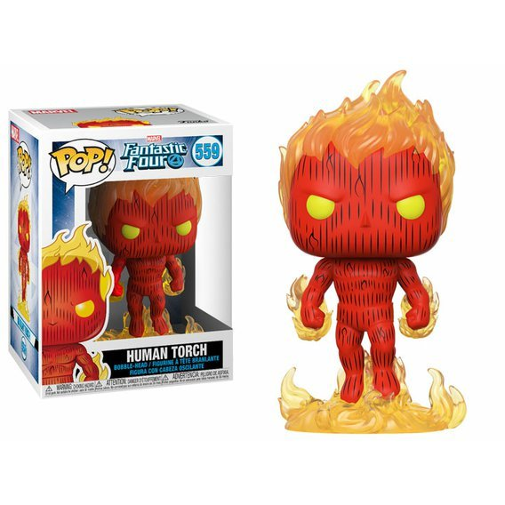 Funko POP Marvel: Fantastic Four - Human Torch