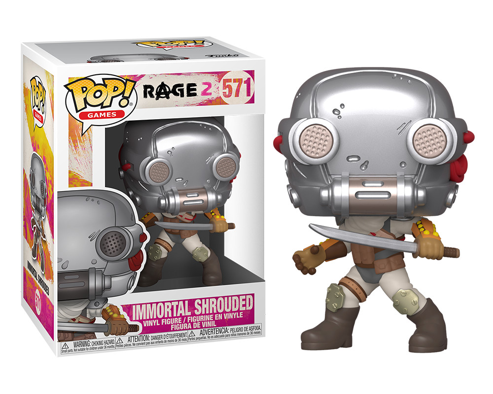 Funko POP Games: Rage 2 - Immortal Shroud