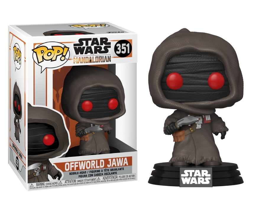 Funko POP TV: SW The Mandalorian - Offworld Jawa (MT)