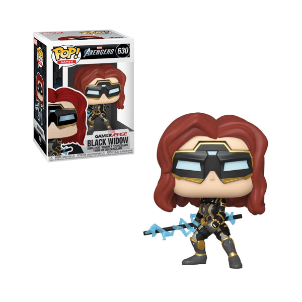 Funko POP Marvel: Avengers Game - Black Widow (Stark Tech Suit) (w/GW Chase) - balení 6 ks