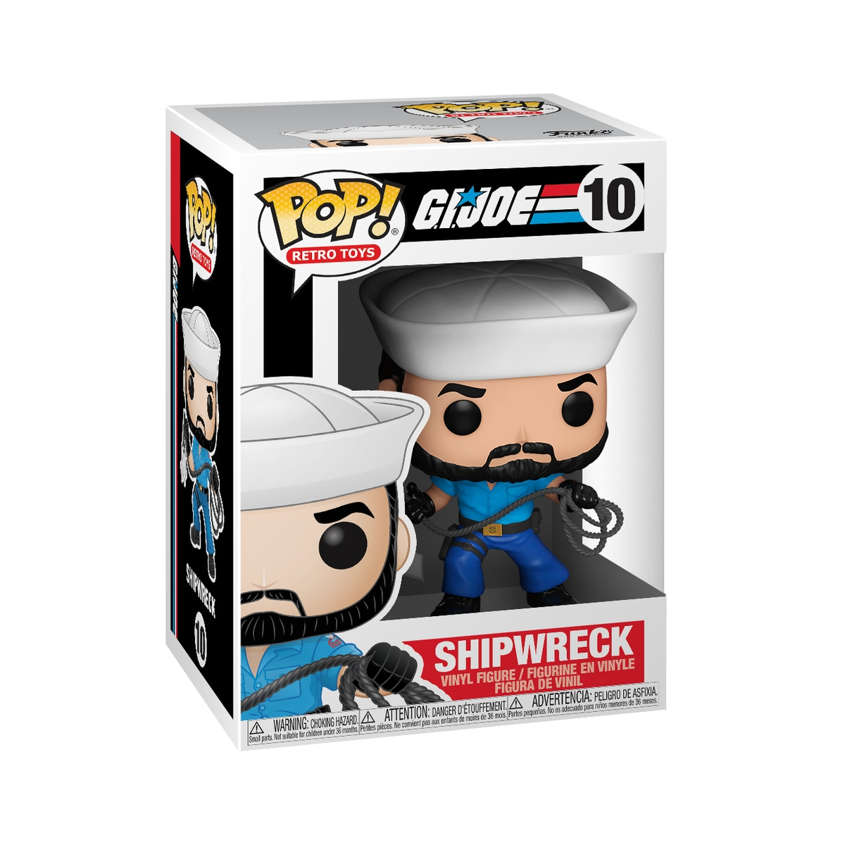 Funko POP RT S1: GI Joe- Shipwreck