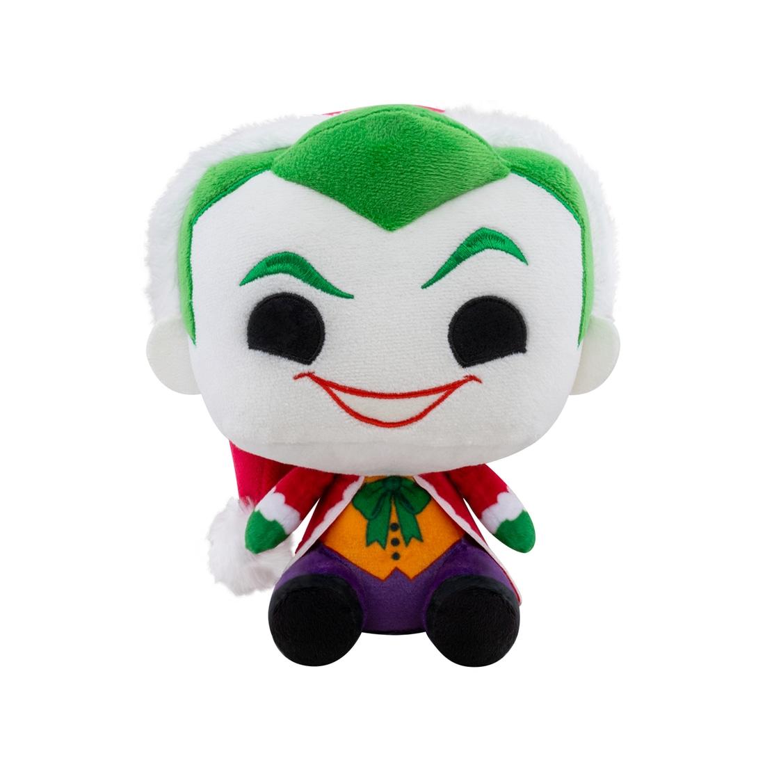 Funko POP Plush: DC Holiday- Santa Joker
