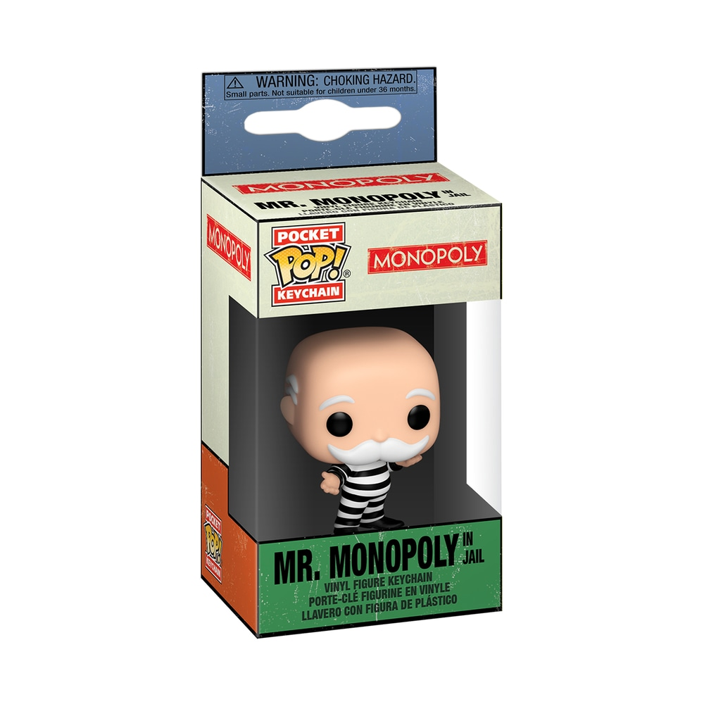 Funko POP Keychain: Monopoly- Criminal Uncle Pennybags