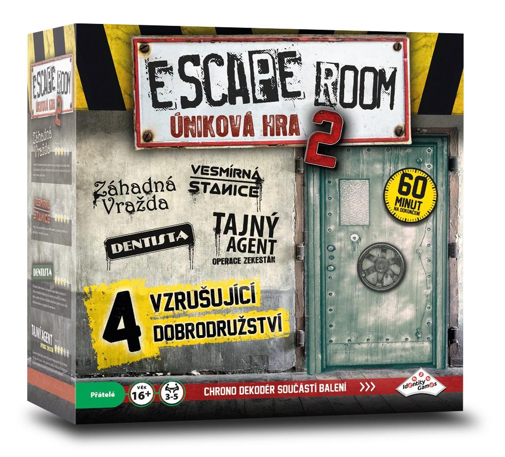ESCAPE ROOM 2.: úniková hra - 4 scénáře