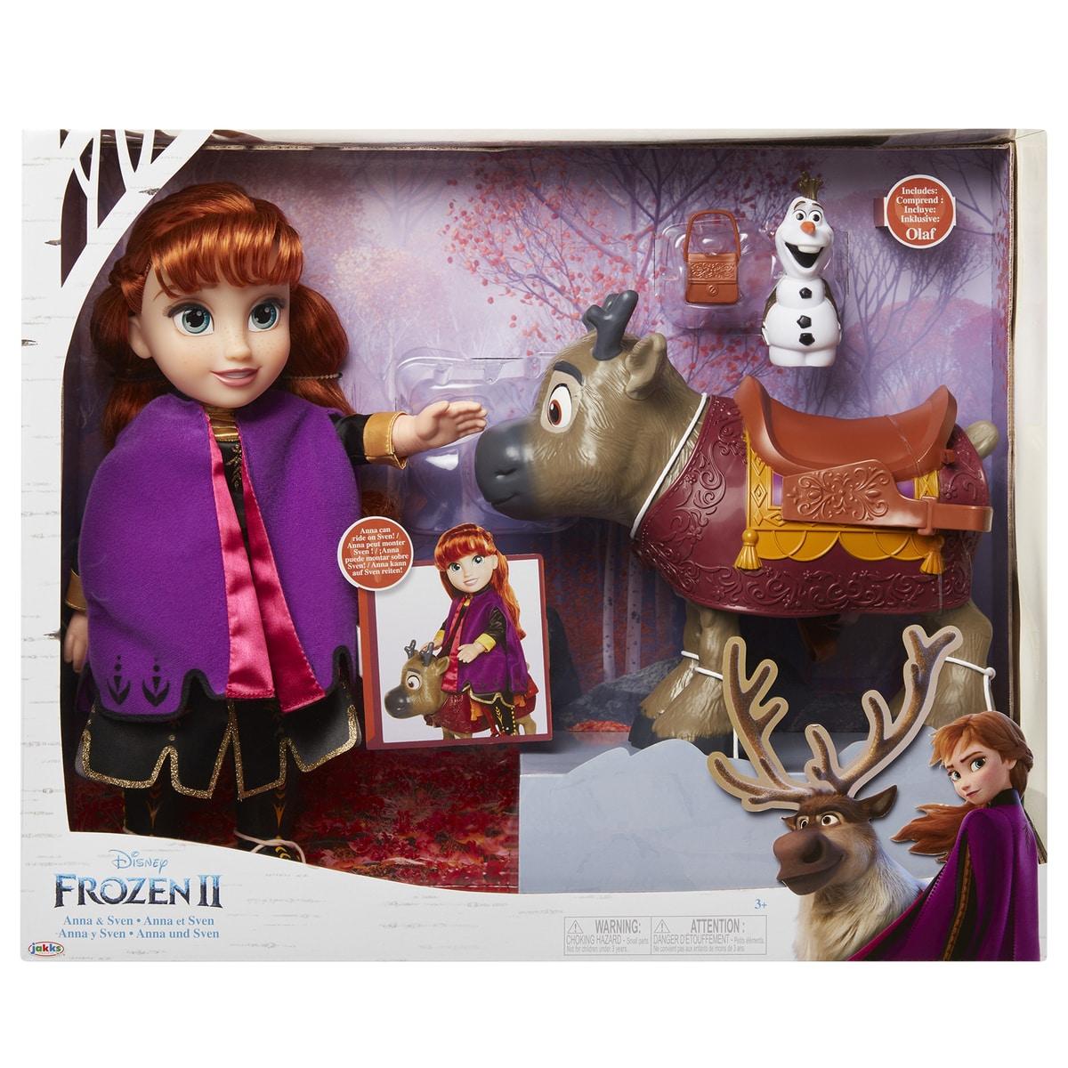 Frozen 2:  sada panenka Anna a kamarádi