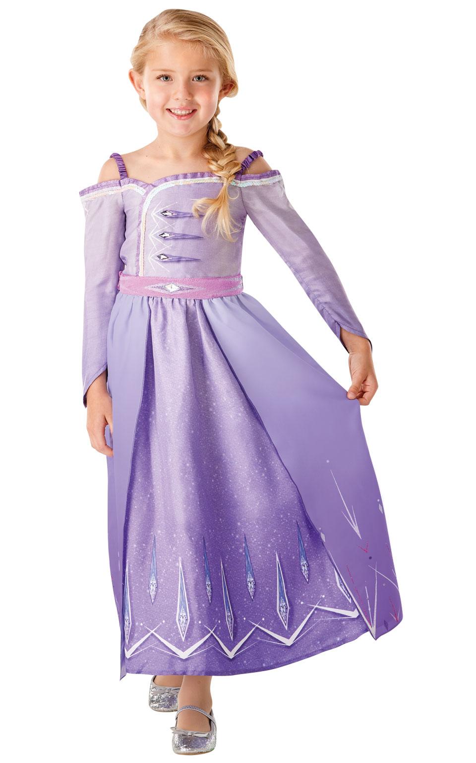 Frozen 2: ELSA - SPECIAL kostým (Prologue) - vel. L