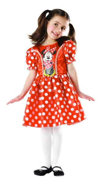 Minnie Mouse: Classic červená - vel. S