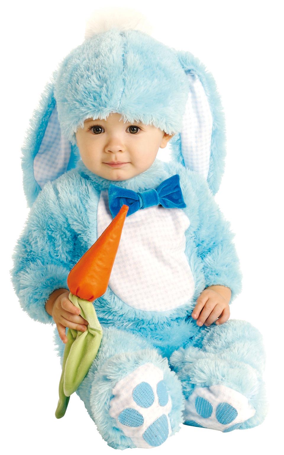 Baby kostým - modrý králíček (12-18m)
