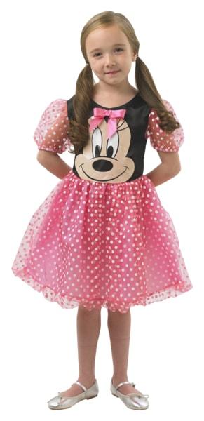 Minnie Mouse: růžový kostým - vel. M