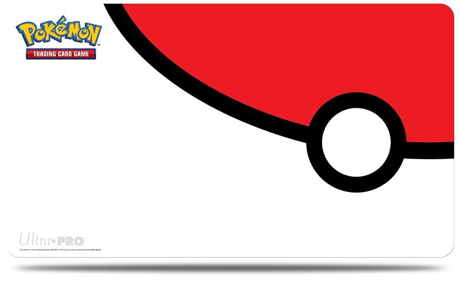 Pokémon UltraPRO: Hrací podložka - Pokéball Red and White
